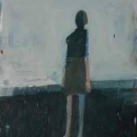 Woman Standing upright