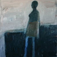 Standing Woman with head turned