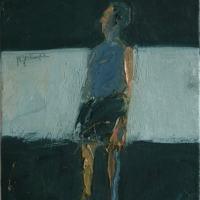 Small figure standing