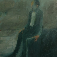 Seated man