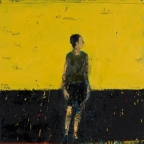 Standing figure(yellow background)