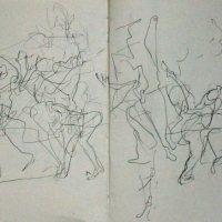 Scottish Ballet Sketchbook – Jiri Kylian's 14'20