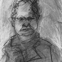Portrait of Val McDermid I